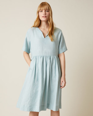Jigsaw Linen T-shirt Dress