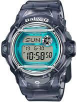 Casio Digital Retro Jelly Resin Strap Watch