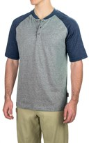 Wolverine Brower Tech Henley Shirt - Short Sleeve (For Men)