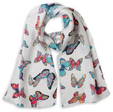Echo Butterfly Fun Time Silk Scarf