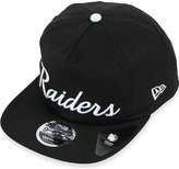 New Era 9fifty Raiders Throwback Black Snapback Cap