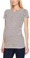 New Look Maternity Women's Breton Maternity T-Shirt