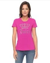 Juicy Couture Logo Juicy Crown Short Sleeve Tee
