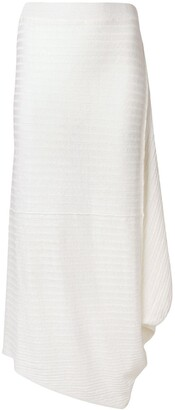 J.W.Anderson Ribbed Knitted Skirt