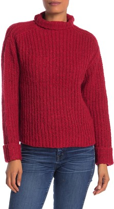 Abound Mock Neck Cozy Knit Pullover Sweater