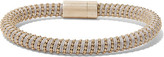 Carolina Bucci Twister 18-karat Gold-plated And Silk Bracelet - one size