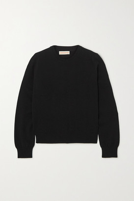 &Daughter Innes Classic Cashmere Sweater - Black