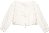 Zimmermann Empire Linear blouse