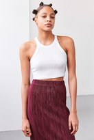 Truly Madly Deeply Blakeley High Neck Cropped Top