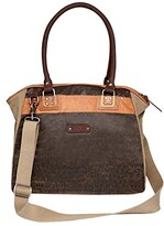 Thumbnail for your product : TSD BRAND Tapa Canvas Satchel