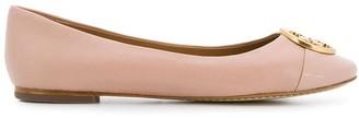Tory Burch Chelsea cap toe ballet flats