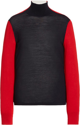 Erin Snow Masha Colorblock Merino Wool Sweater