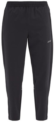2XU Xvent Technical-poplin Track Pants - Black Silver