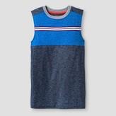 Cat & Jack Boys' Muscle Activewear Tank Top Cat & Jack - Blue Streak
