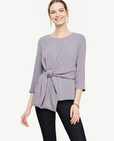 Ann Taylor Knot Front Top
