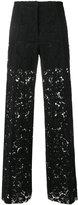 Philosophy Di Lorenzo Serafini wide leg lace trousers
