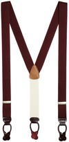 Brooks Brothers Extra-Long Solid Suspenders