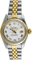 Rolex Women's Vintage Ladies Two-Tone Stainless Steel Datejust Watch, 26mm