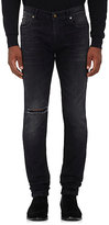 Saint Laurent Men's Skinny Jeans-BLACK