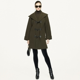 Ralph Lauren Black Label Merino Wool-Blend Toggle Coat