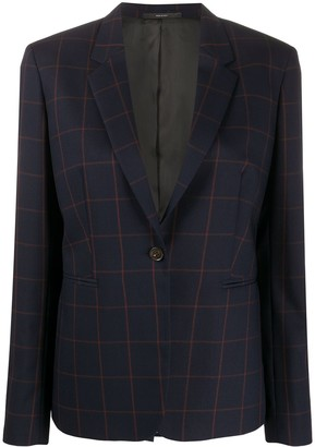 Paul Smith Checked Suit Jacket