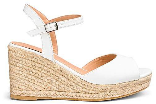 57c480fa9b70 Espadrilles Wide Fit - ShopStyle UK