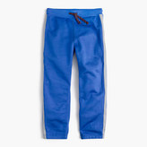 J.Crew Boys' reflective side stripe sweatpant in classic fit