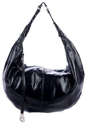 4d349c9e6905 Large Patent Leather Hobo
