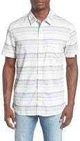 Quiksilver 'Aventail' Stripe Woven Shirt