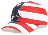 Vineyard Vines Men's Americana Baseball Cap - Red