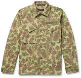 Rag & Bone Camouflage-Print Cotton-Canvas Shirt Jacket