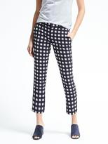 Banana Republic Avery-Fit Gingham Pant