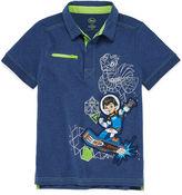 Disney Miles Short-Sleeve Cotton Polo - Boys