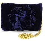 Shiraleah Fleur Women Canvas Blue Messenger.