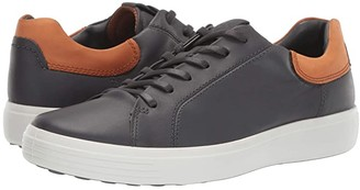 Ecco Soft 7 Classic Sneaker (Moonless/Amber) Men's Shoes