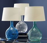 Pottery Barn Eva Colored Glass Table Lamp