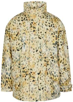 Martine Rose Napa By Leopard-print Padded Twill Jacket