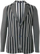 Etro woven stripe blazer - men - Silk/Cotton/Acrylic/Viscose - 50