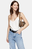 Topshop Womens Ivory Scoop Cami - Ivory