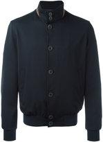 Herno high neck bomber jacket - men - Wool/Spandex/Elastane/Viscose/Polyamide - 48
