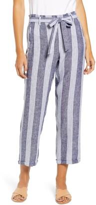 Caslon Tie Waist Crop Pants