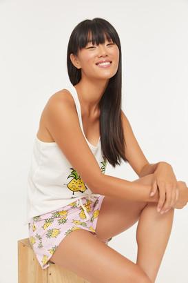 Ardene Pineapple Cami and Shorts PJ set