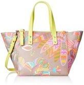 Trina Turk Poolside Satchel Top Handle Bag