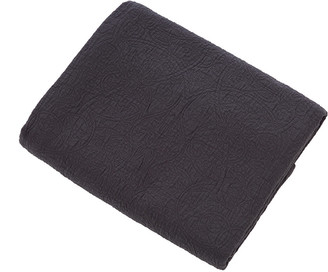 Morris & Co - Bullerswood Quilted Throw - Charcoal