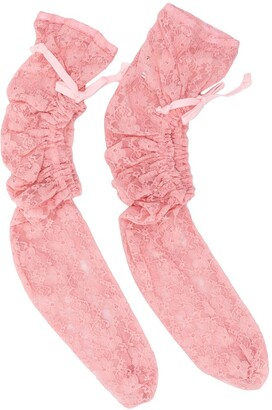 Comme des Garcons Lace Drawstring Socks