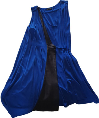 Vionnet Blue Silk Dresses