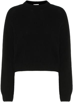 Saint Laurent Cropped cashmere sweater