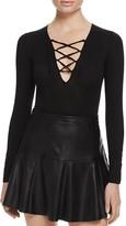 Ella Moss Lace-Up Bodysuit - 100% Bloomingdale's Exclusive