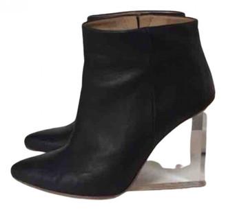 Maison Martin Margiela Pour H&m Black Leather Boots