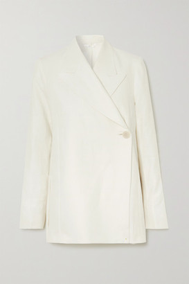 REMAIN Birger Christensen Vivi Linen Blazer - Cream